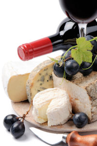Gift Giving - Wine and Cheese